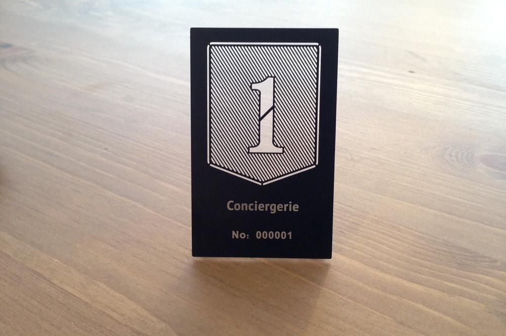 Cartes de membre pour conciergerie - ironCards