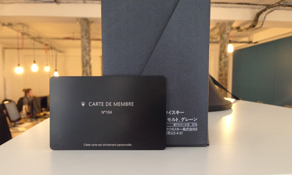 metal membership cards