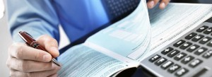 Carte de visite pour expert comptable