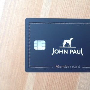 carte-membre-metal-carte-puce-John Paul