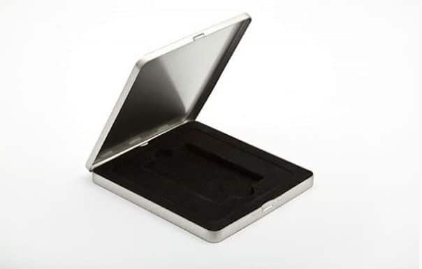 Coffret metal pour carte en metal