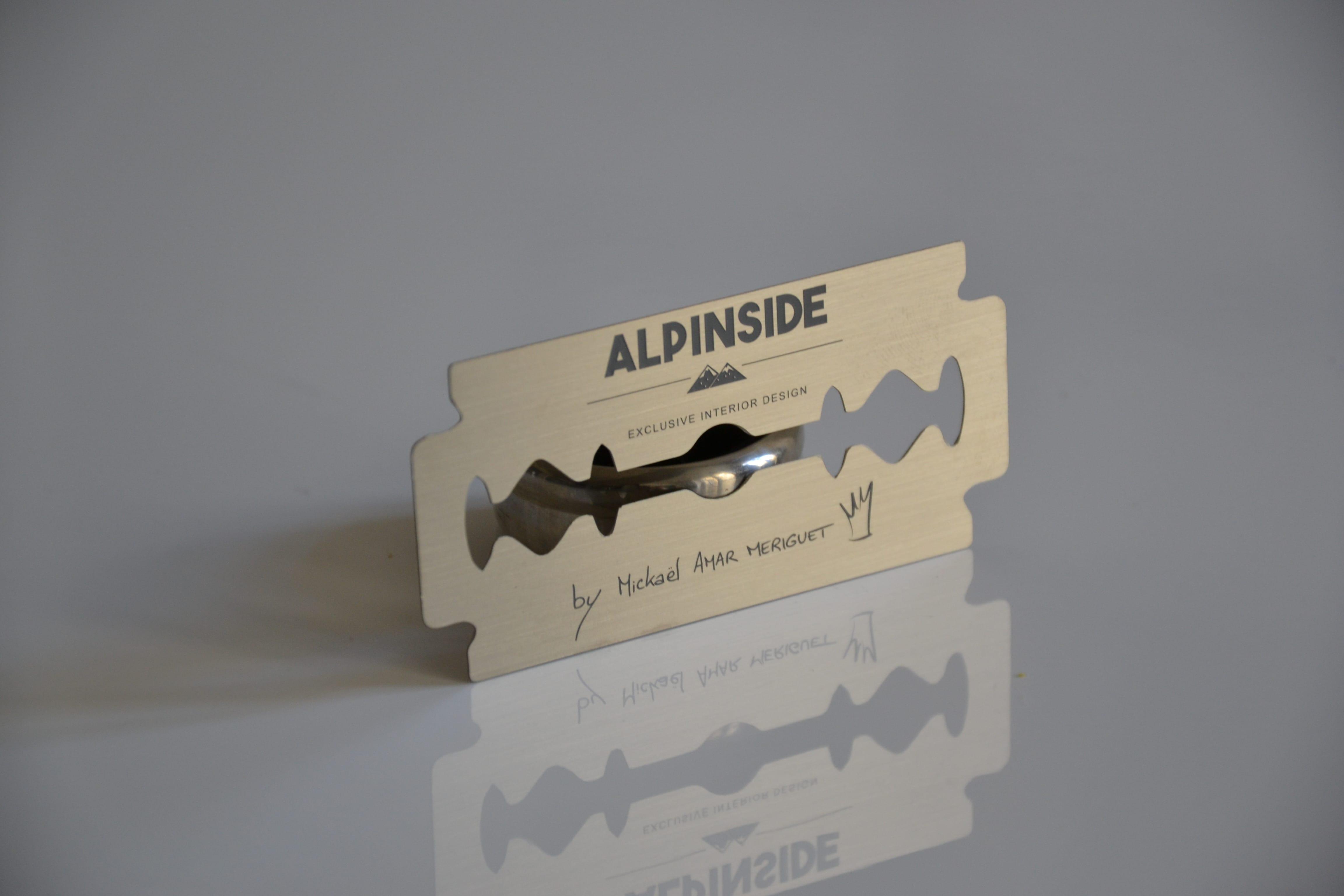 Original business cards for architect